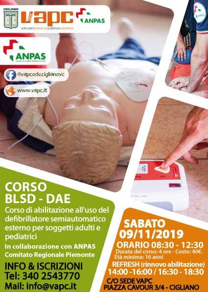 CORSO BLSD - DAE